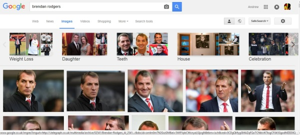 Rodgers Image search